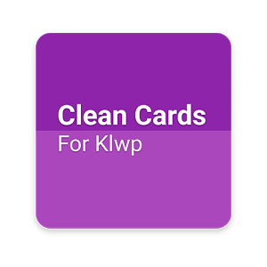 Download Clean Cards! For Klwp App on your Windows XP/7/8/10 and MAC PC