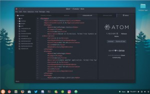 atom-text-editor-on-ubuntu-1704